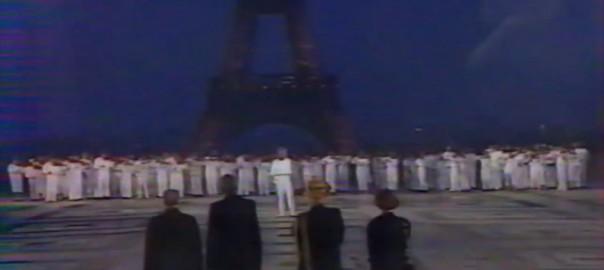 Accueil de Nelson Mandela à Paris