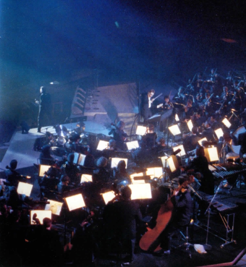 """Orchestre Symphonique d'Europe """"dans la chaleur de Bercy"""" (crédits : livret CD)"""