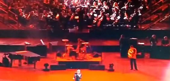 Johnny allume le feu, Orchestre Symphonique d'Europe, Stade de France 1998